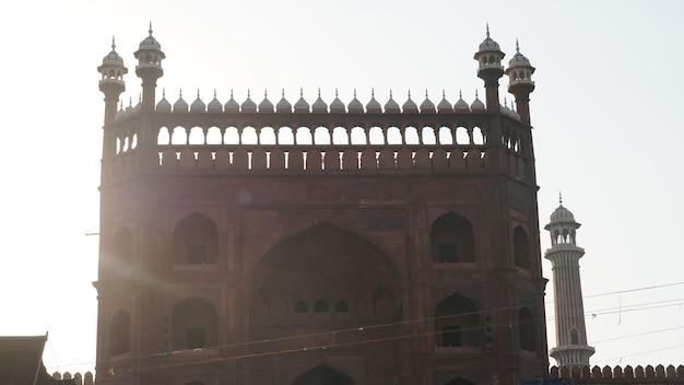 세계 유산 델리의 jama masjid