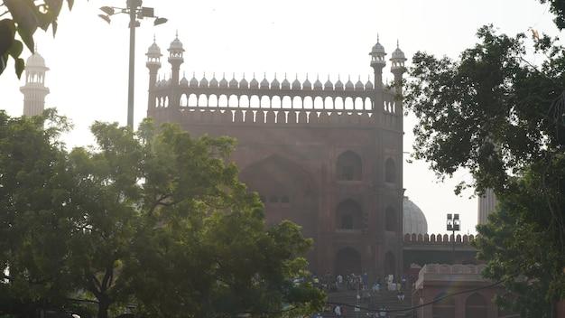 인도 델리의 자마 마스지드 게이트