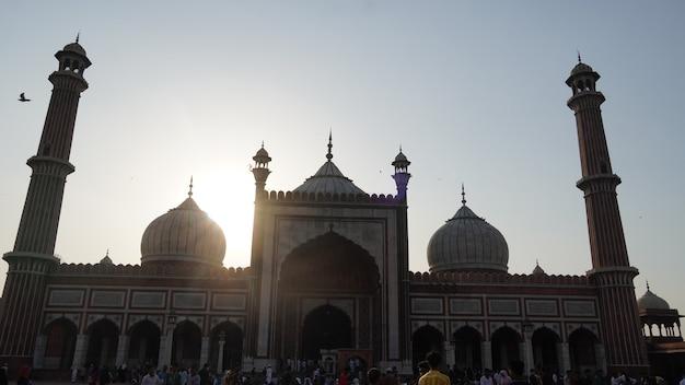 Jama masjid, 올드 델리, 인도