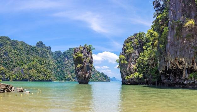 Остров джеймса бонда в заливе панг нга
