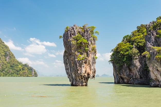 James bond island(khao tapu)、パンガー、タイ