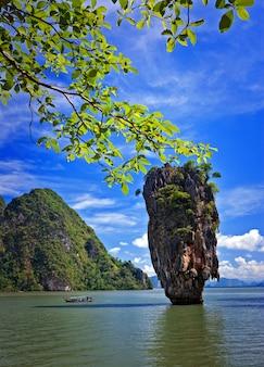 James bond island,phang nga,beautiful landmark tourism authority of thailand