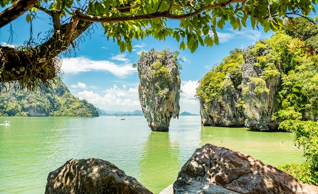 James bond island in phangnga