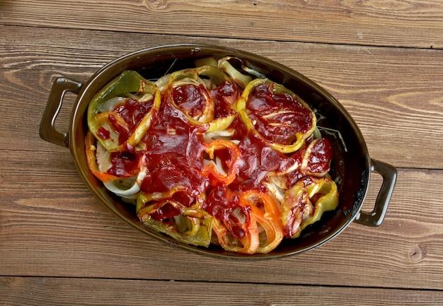 Жареный стейк в испанском стиле джейми оливера