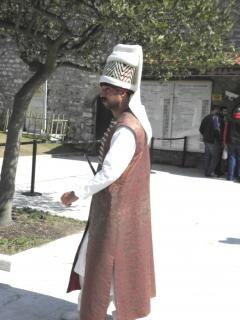 Janissaries in istanbul