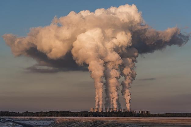 Jänschwalde power plant in germany