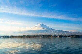 Japan reflection mount water beauty