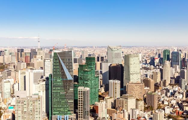 Japan skyscrapers