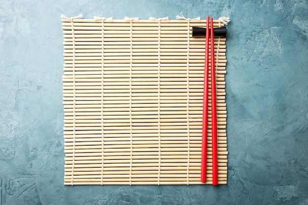 Japan wooden napkin with chopsticks
