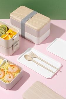 일본 도시락 상자 구성