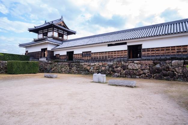 Японский замок в хиросиме