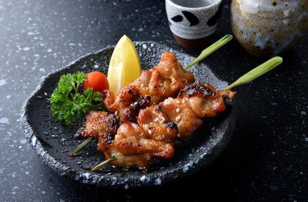 Japanese chicken grill or yakitori.