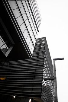 Японская культура с низким углом зданий