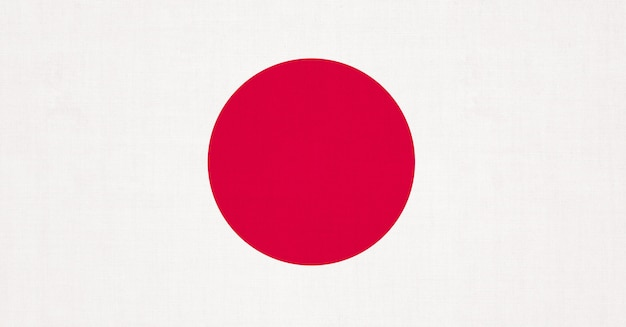 Japanese flag cloth