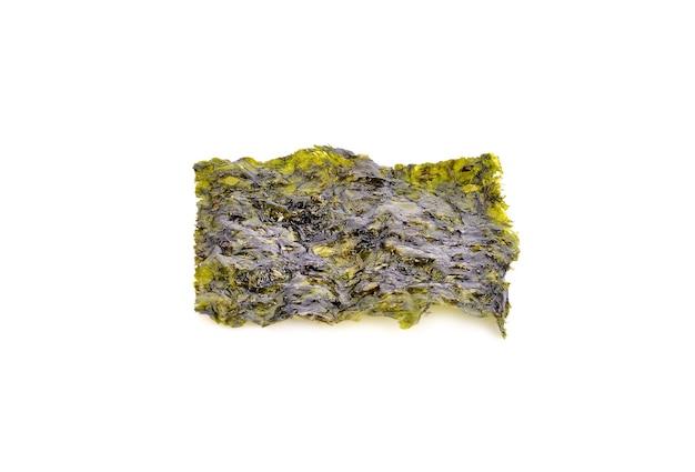 Японская еда сухие водоросли нори или съедобные водоросли