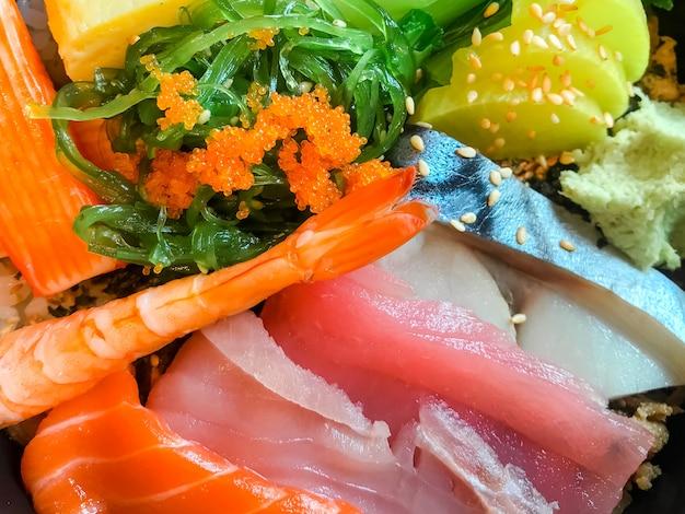 Japanese food sashimi