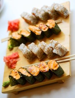 Japanese food. sushi.