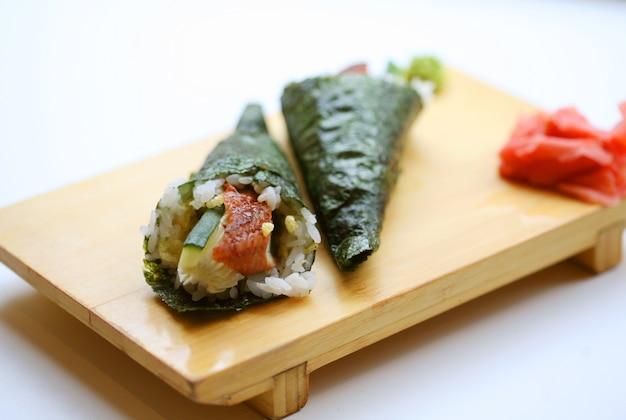 日本食。寿司。