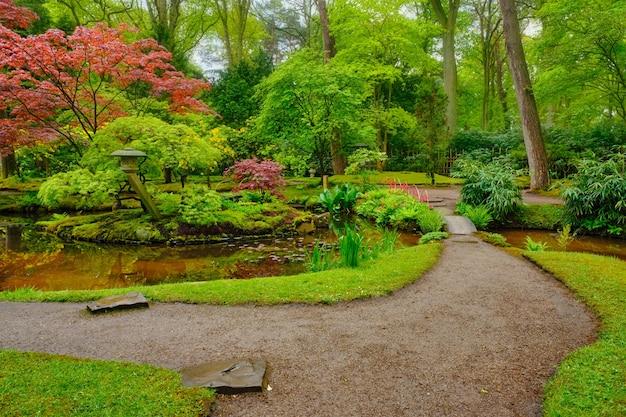 日本庭園公園ハーグオランダクリンゲンダール