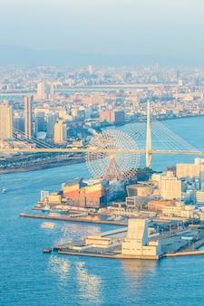 Японский ориентир азиатского залива город