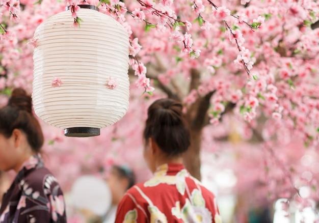 Японский фонарь Premium Фотографии