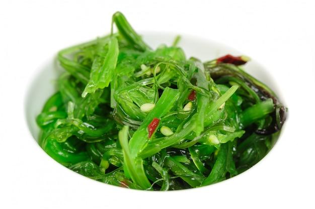 Japanese ñhuka seaweed