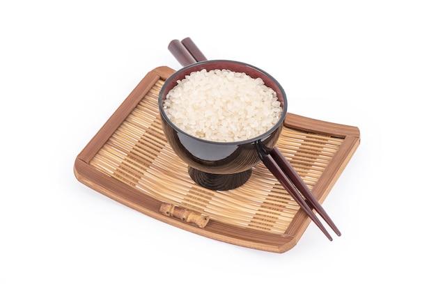 일본 쌀 흰색 절연입니다.