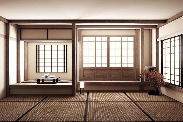Japanese style empty room