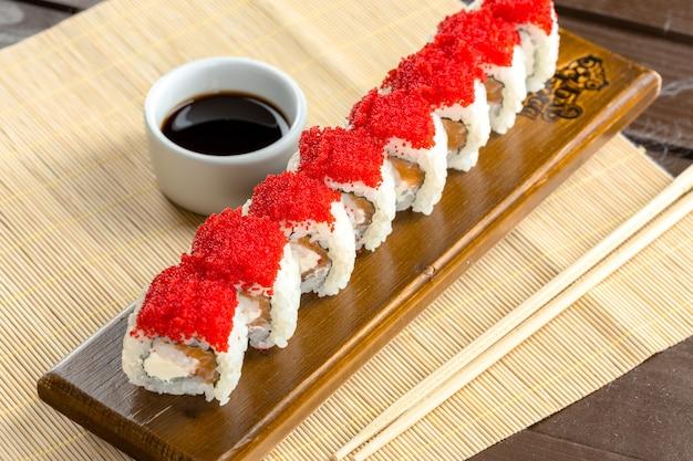 Japanese traditional food: sushi