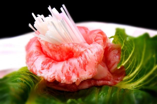 Japanese wagyu shabu beef