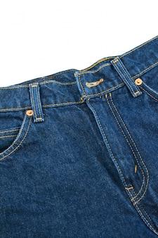 Jean primo piano indossare abiti tessitura
