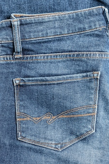 Jeans close-up