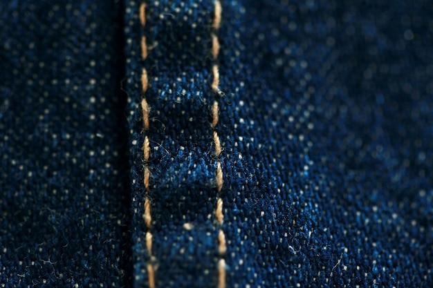 Джинсовая текстура джинсовой ткани крупным планом