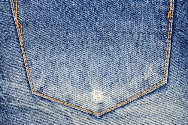 Jeans pocket background.