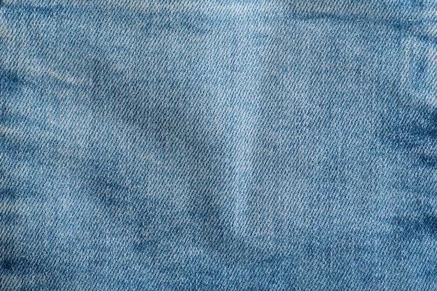 Jeans texture close up. textile background. denim blue.