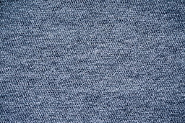 ジーンズの質感、デニムジーンズの背景。上面図、テキストの場所。