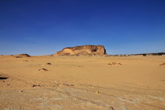 Jebel barkal은 수단의 신성한 산입니다.
