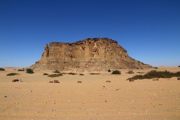 Jebel barkal is sacred mountain in sudan