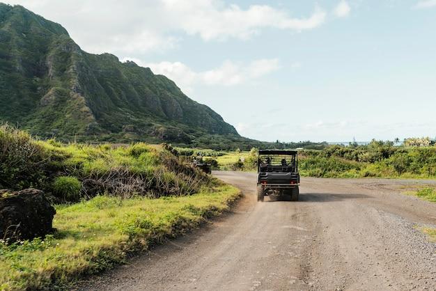 ハワイのジープ車