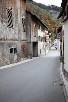 Деревня дженин в осенней швейцарии