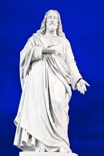 Jesus statue  ireland