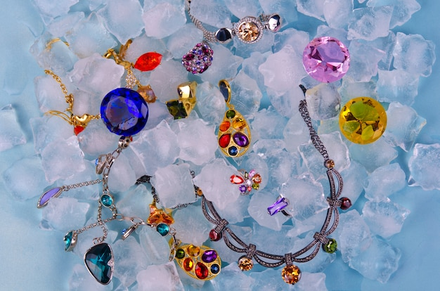 Jewels at ice