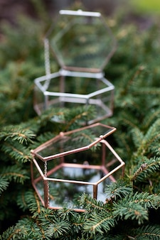 Jewerly boxes on the christmas tree