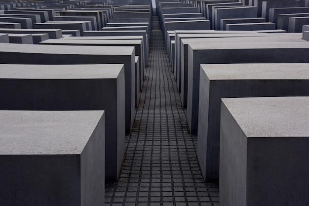 Мемориал еврейского холокоста в берлине