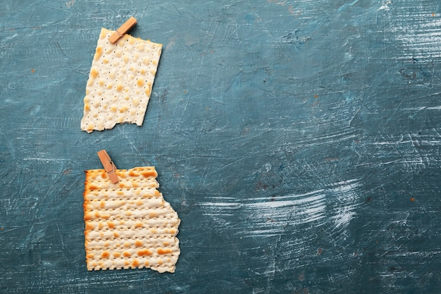 Jewish traditional matzo bread