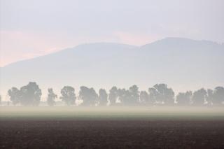 Jezreel valley in lower galilee