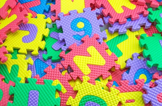 퍼즐 상자 질감 배경