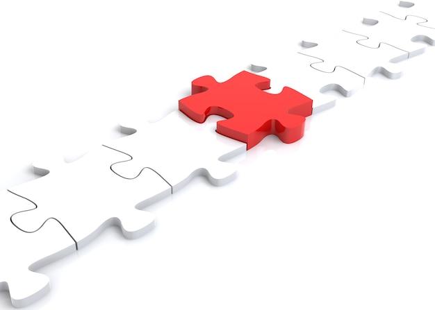 부품 간의 연결 다리 역할을 하는 직소 퍼즐 조각