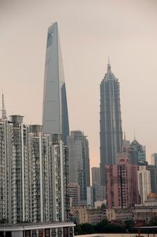 Jin mao tower, lujiazui, pudong, shanghai, china