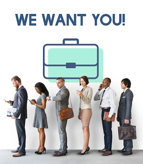 Assunzione di lavoro vacancy team colloquio carriera reclutamento
